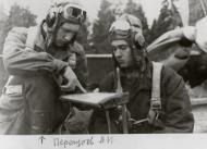 Asisbiz Aircrew Soviet 34GvBAP Hero of the Soviet Union navigator Capt PA Ivanovich and Grishkin 1943 01