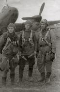 Asisbiz Aircrew Soviet 34GvBAP nav Lt BA Solovyov,JnrLt AV Borisov and RO Sgt SD Pershin 17th Jun 1944 01
