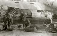 Asisbiz Petlyakov Pe 2 119GvBAP weaponsmiths preparing bombs for loading 01