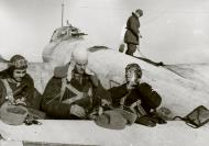 Asisbiz Petlyakov Pe 2 128SBAP crew preparing for their next mission 1943 01