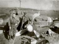 Asisbiz Petlyakov Pe 2 160GvBAP White 9 Boris Petrovich Lyapin with force landed plane 14th Oct 1944 01