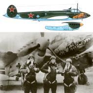 Asisbiz Petlyakov Pe 2R type 359 99GvDRAP Long Range Recon Unit with snarling Lion East Prussia 1944 0A