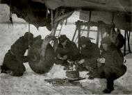 Asisbiz Soviet 82GvBAP mechanic Ilya Y Petryankin at Idritsy station Moscow Riga railway line 14th Feb 1941 01