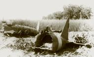 Asisbiz Reggiane Re2005 Sagittario engine failure MM494 crash site Capua 20th July 1943 01
