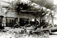 Asisbiz Reggiane plant assembly line destroyed by allied bombing Reggio Emilia Italy 8th Jan 1944 01