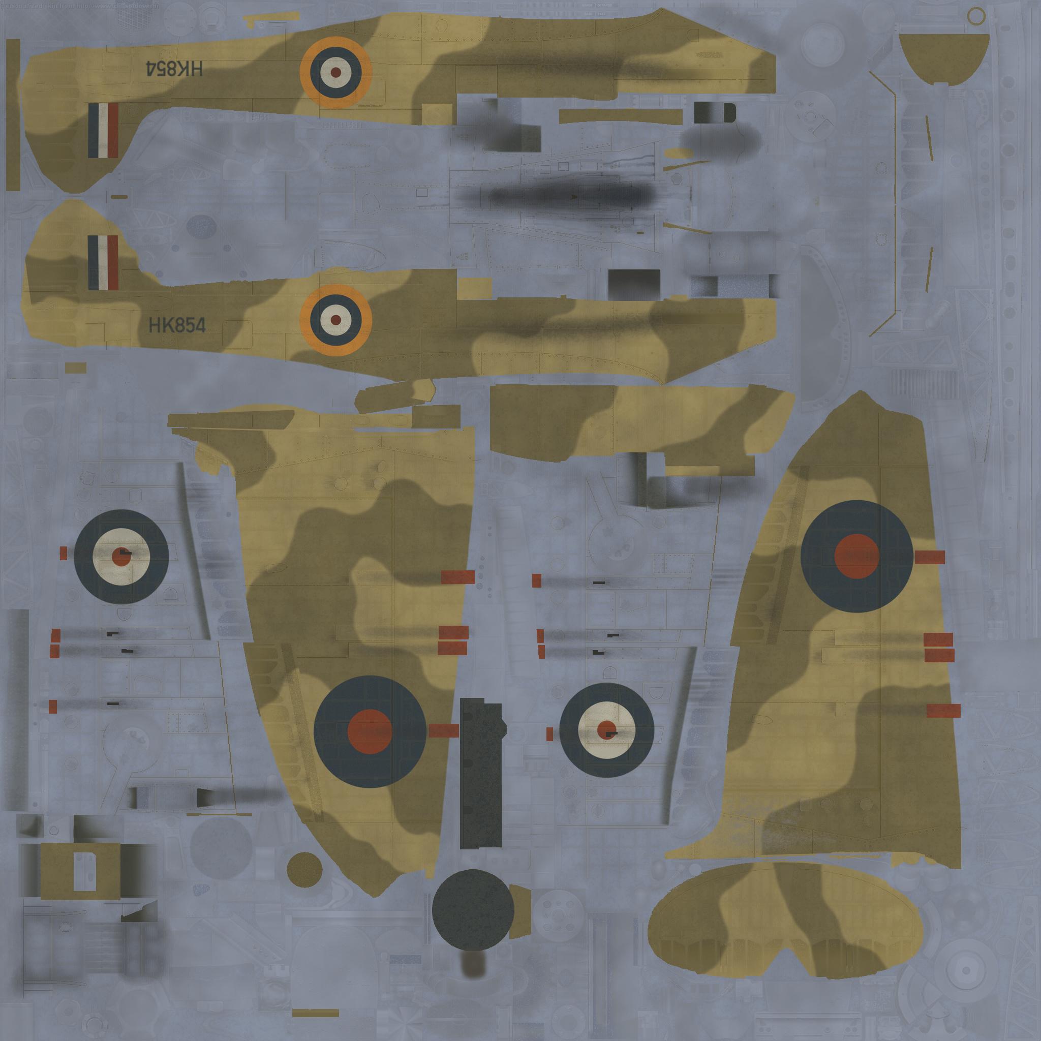 COD MS MkI RAF 1 Middle East Training School El Ballah Egypt 1942 W