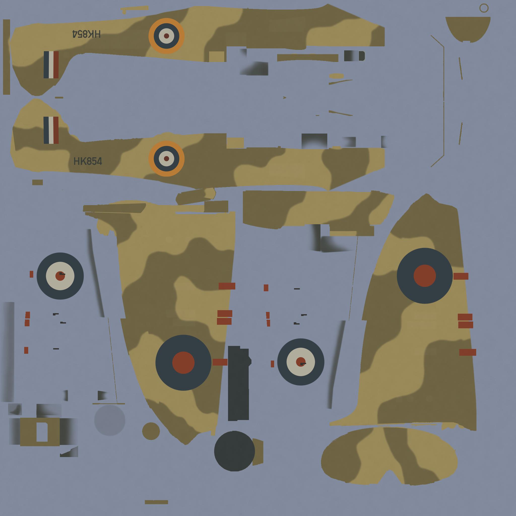 COD MS MkI RAF 1 Middle East Training School El Ballah Egypt 1942