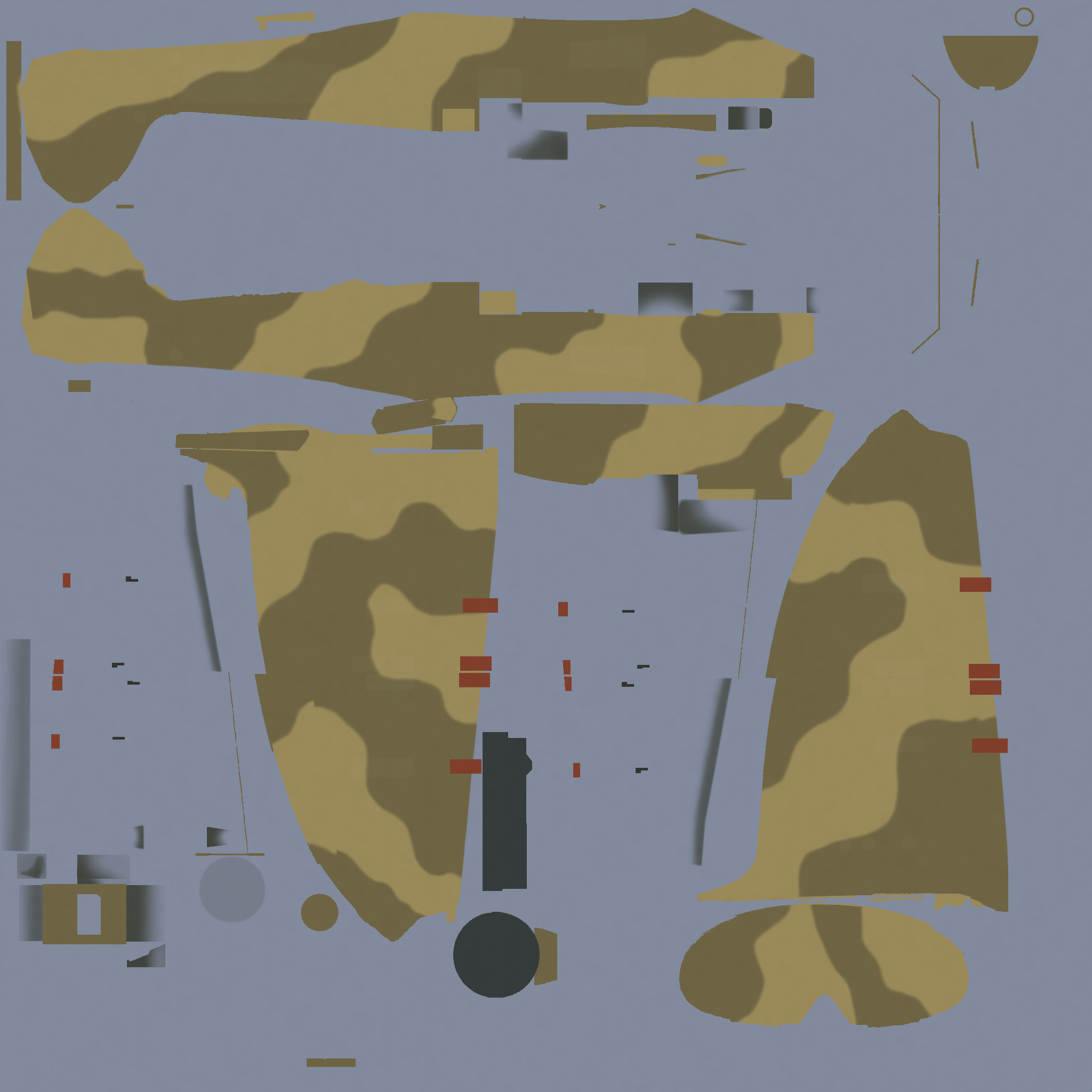 COD MS MkI RAF Desert Generic 1942