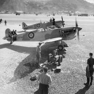 Asisbiz Tropical Spitfires in transit to the Middle East ARF EP965 and AR525 Gibraltar 01