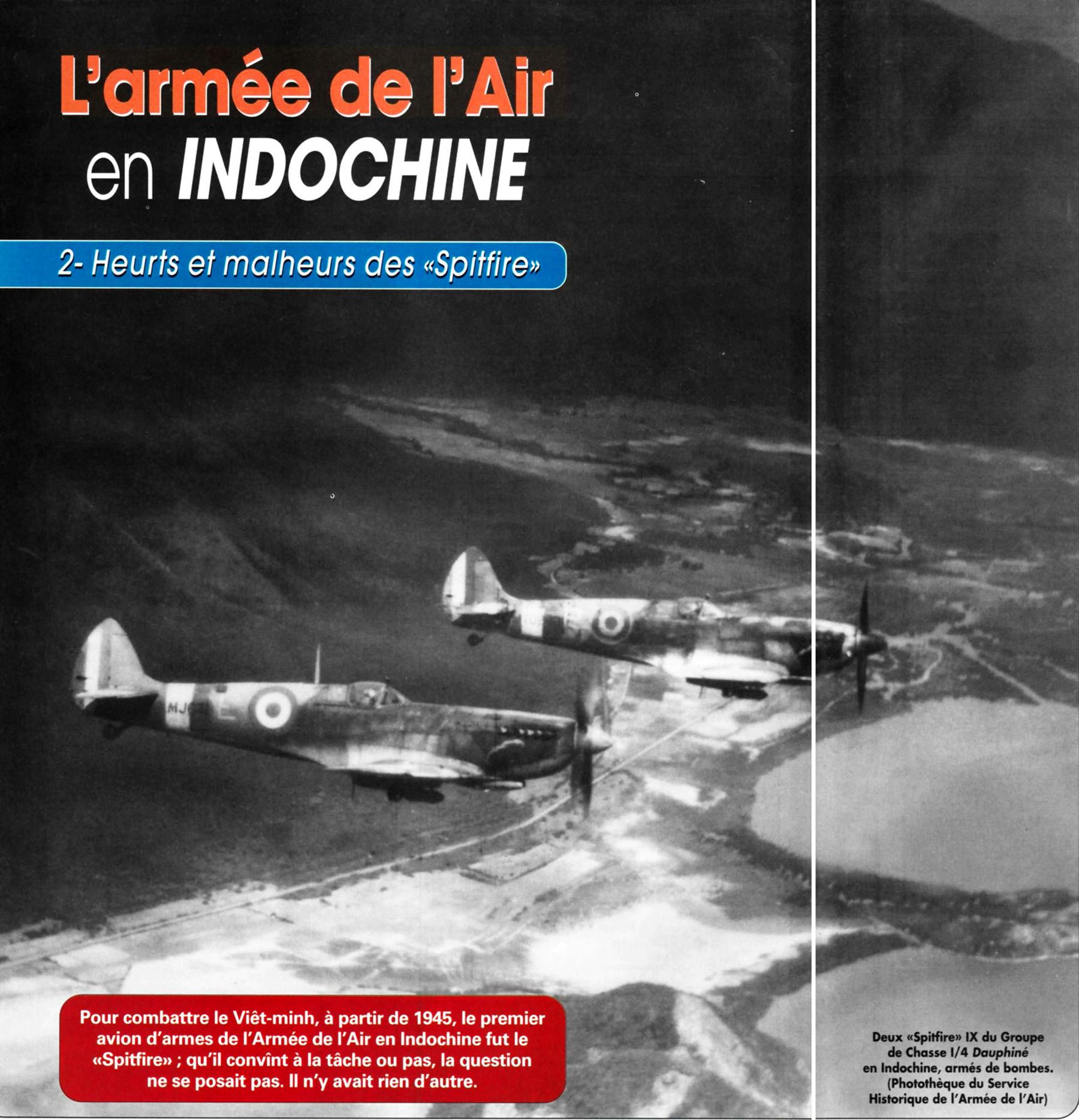 Spitfire MkIX FAF 1.4 Dauphine White E MJ671 over Indo China 01