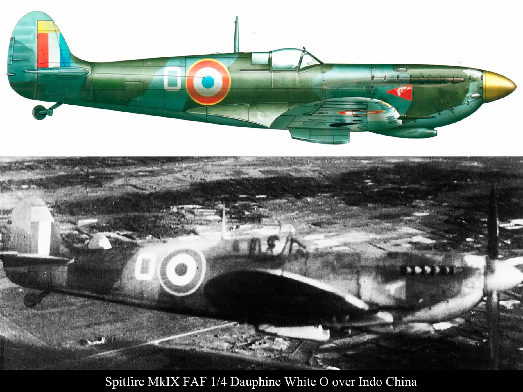 Spitfire MkIX FAF 1.4 Dauphine White O over Indo China 01