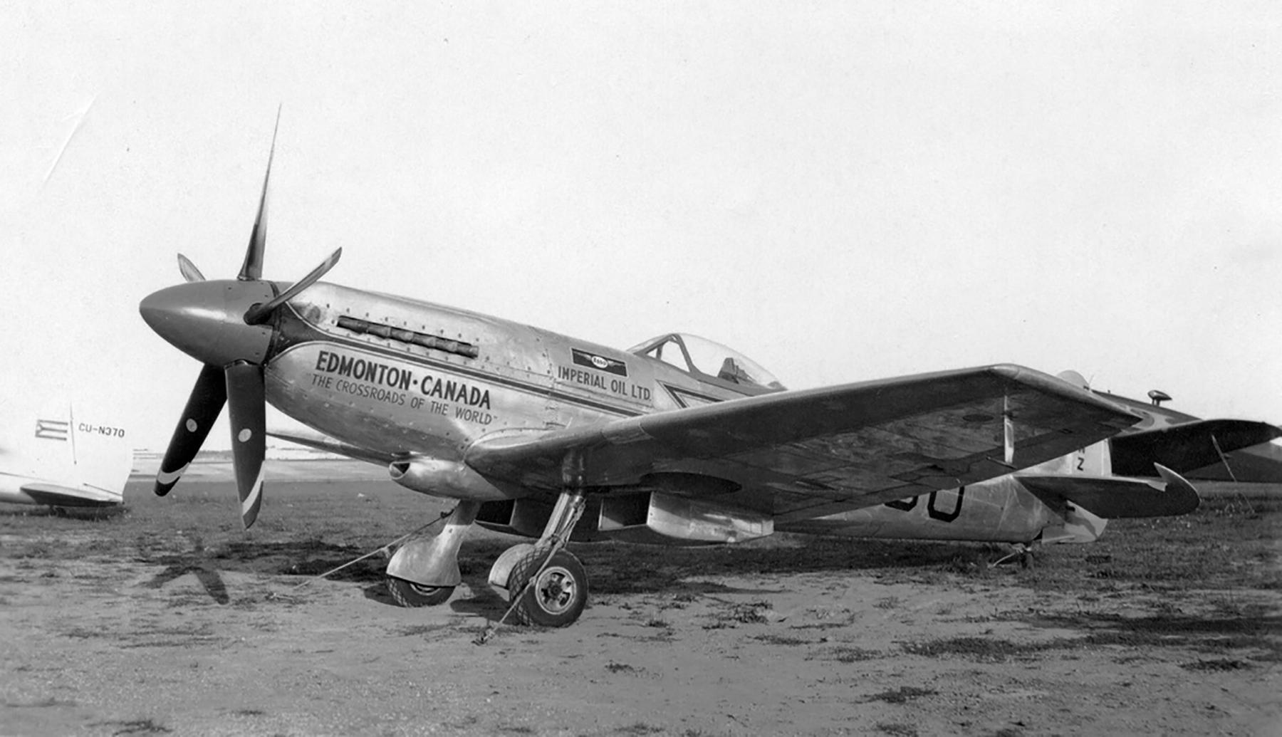 Spitfire XIVe TZ138 on civil register GF GMZ 1949 02