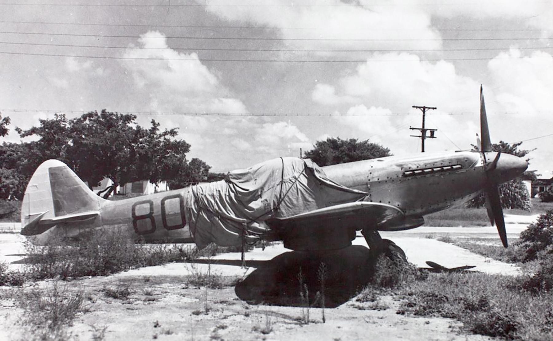 Spitfire XIVe TZ138 on civil register GF GMZ 1949 03