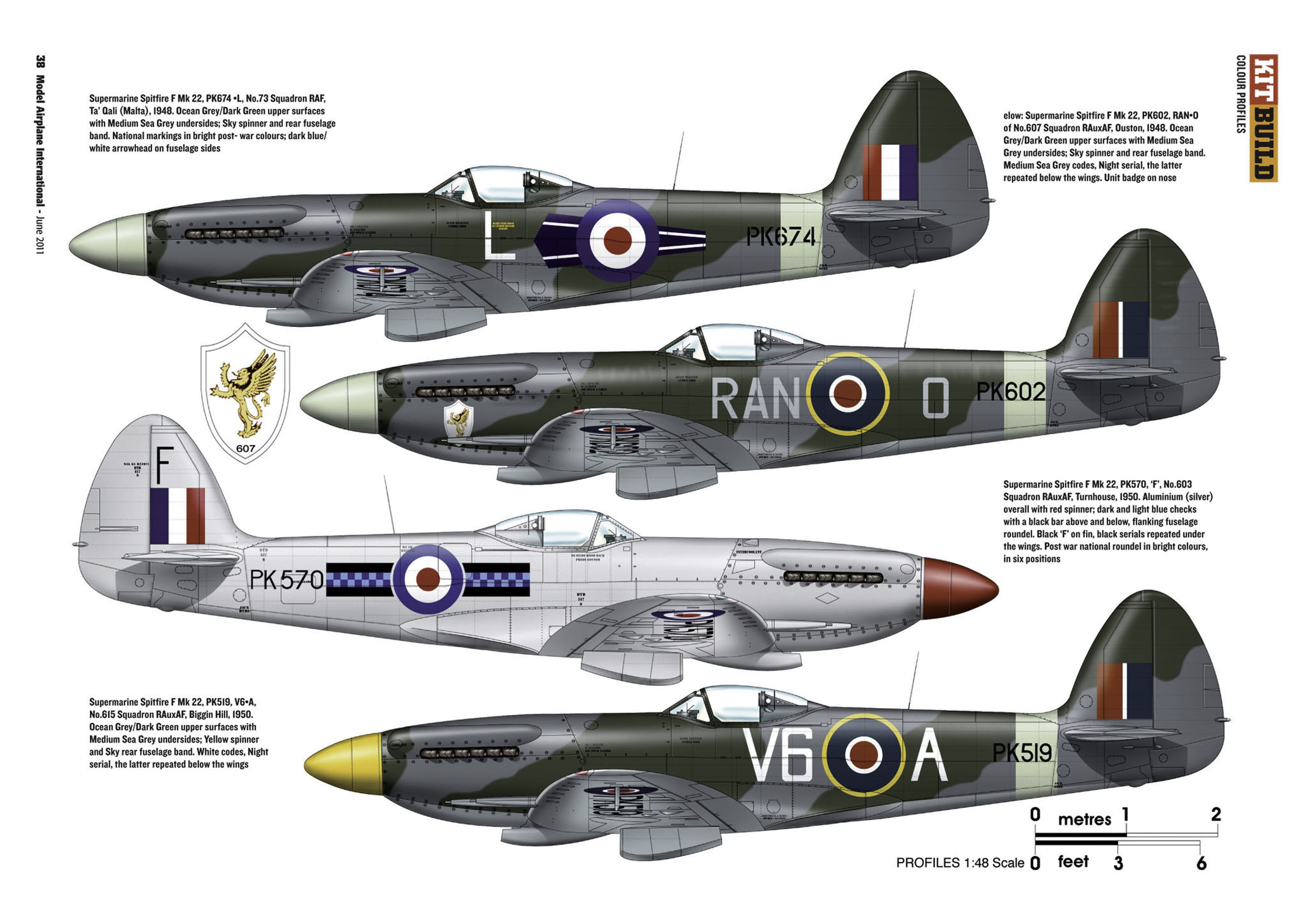 Supermarine Spitfire profiles by Model Airplane Int 071 2011 06 Page 38