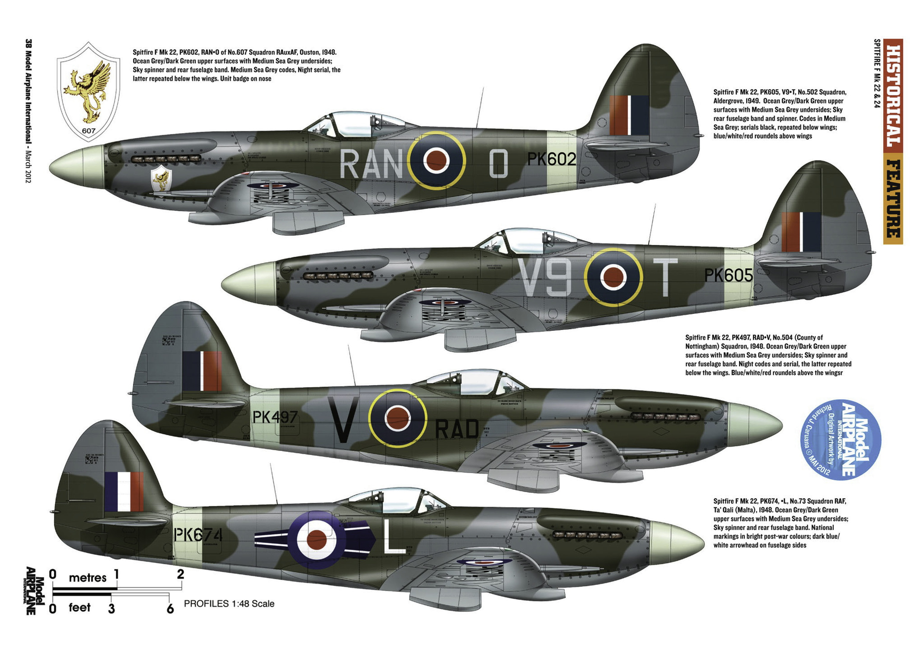 Supermarine Spitfire profiles by Model Airplane Int 080 2012 03 Page 38
