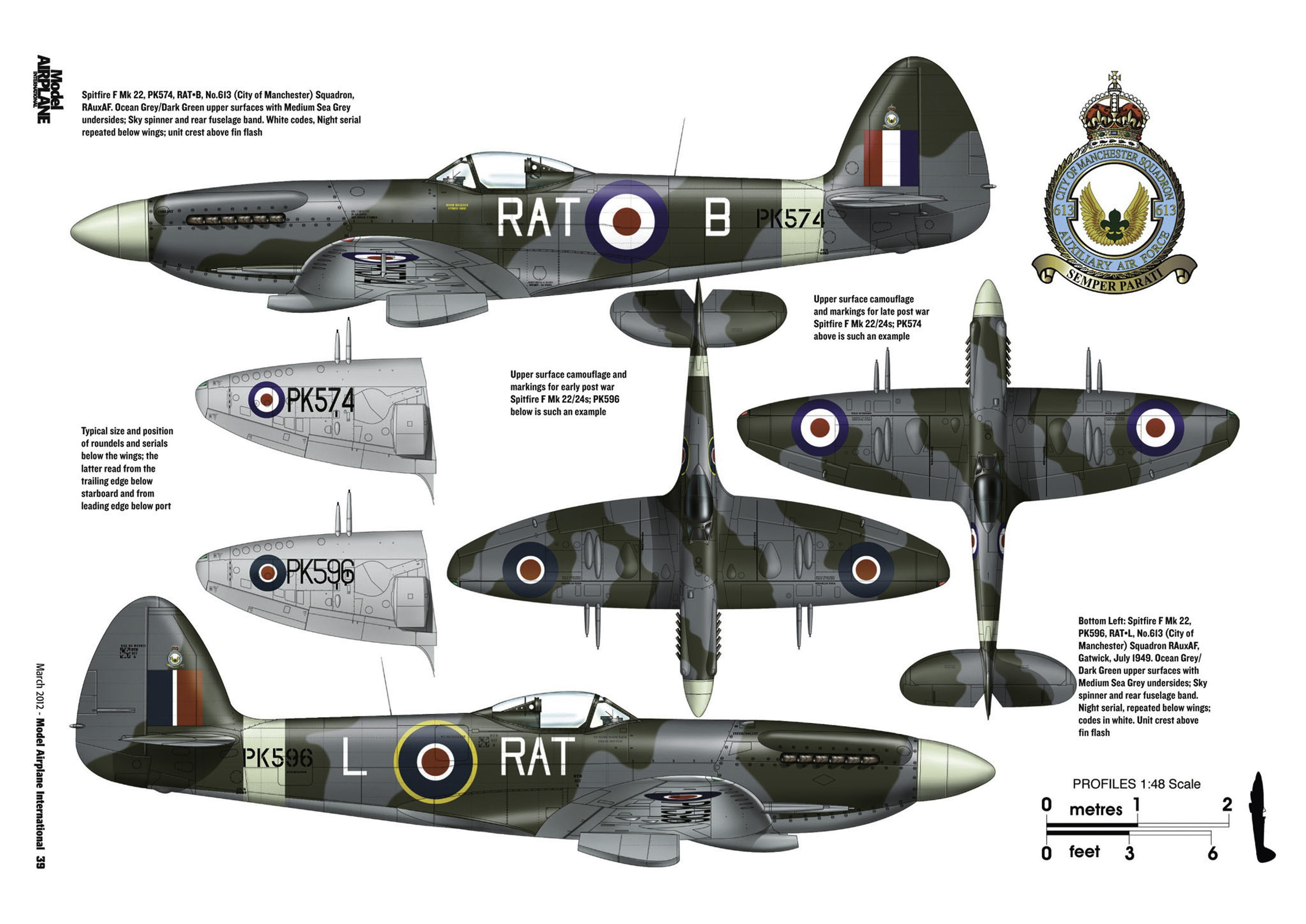 Supermarine Spitfire profiles by Model Airplane Int 080 2012 03 Page 39