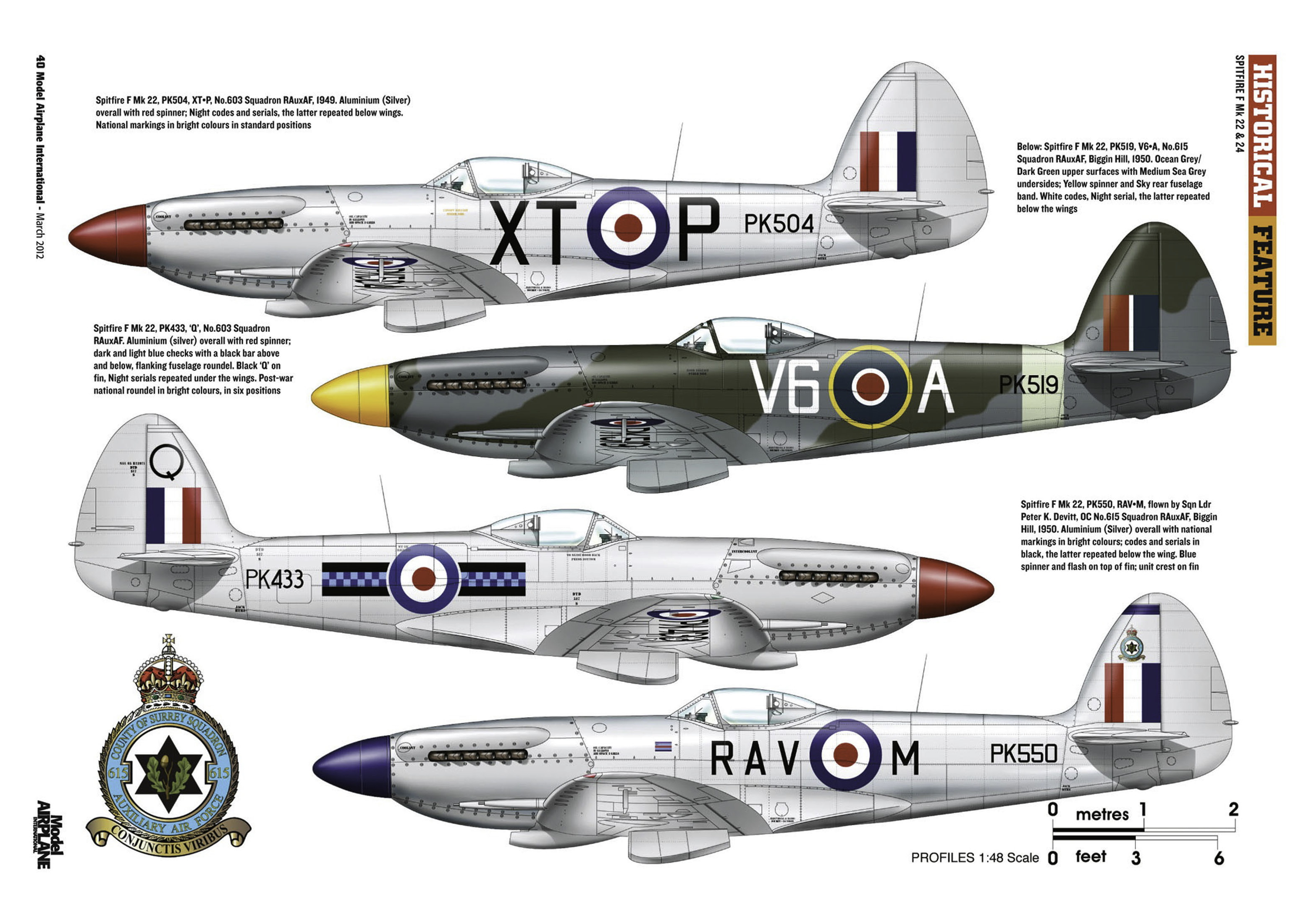 Supermarine Spitfire profiles by Model Airplane Int 080 2012 03 Page 40