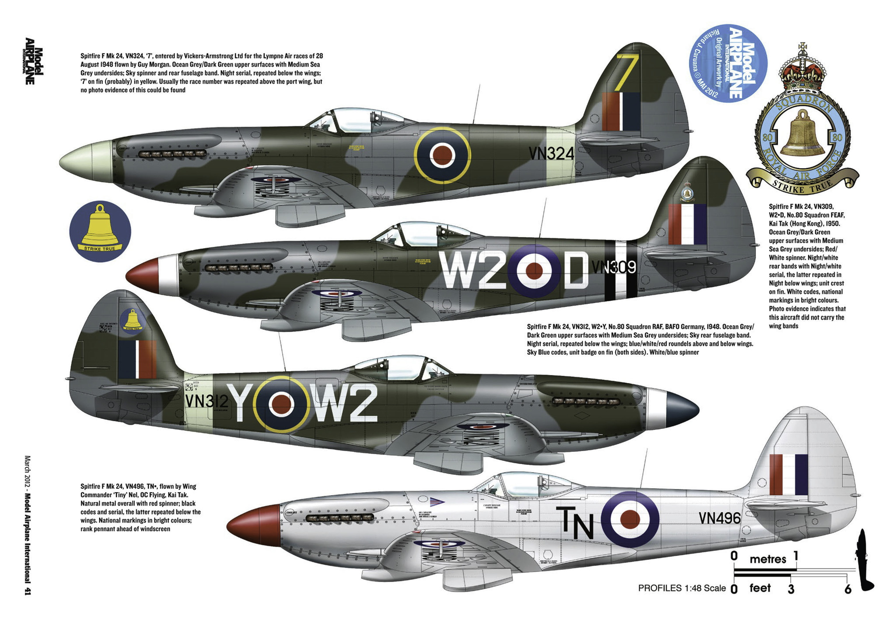 Supermarine Spitfire profiles by Model Airplane Int 080 2012 03 Page 41