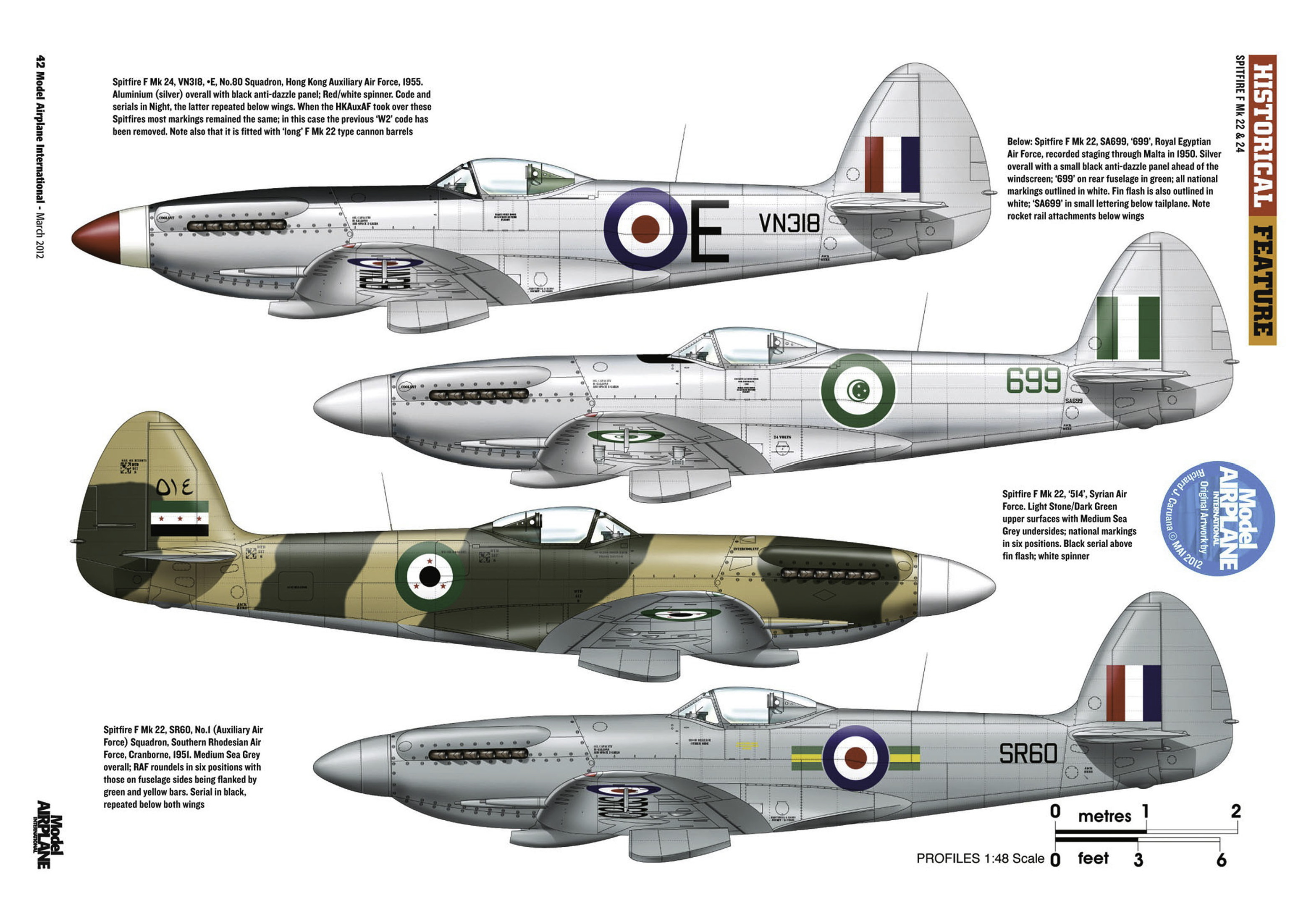 Supermarine Spitfire profiles by Model Airplane Int 080 2012 03 Page 42