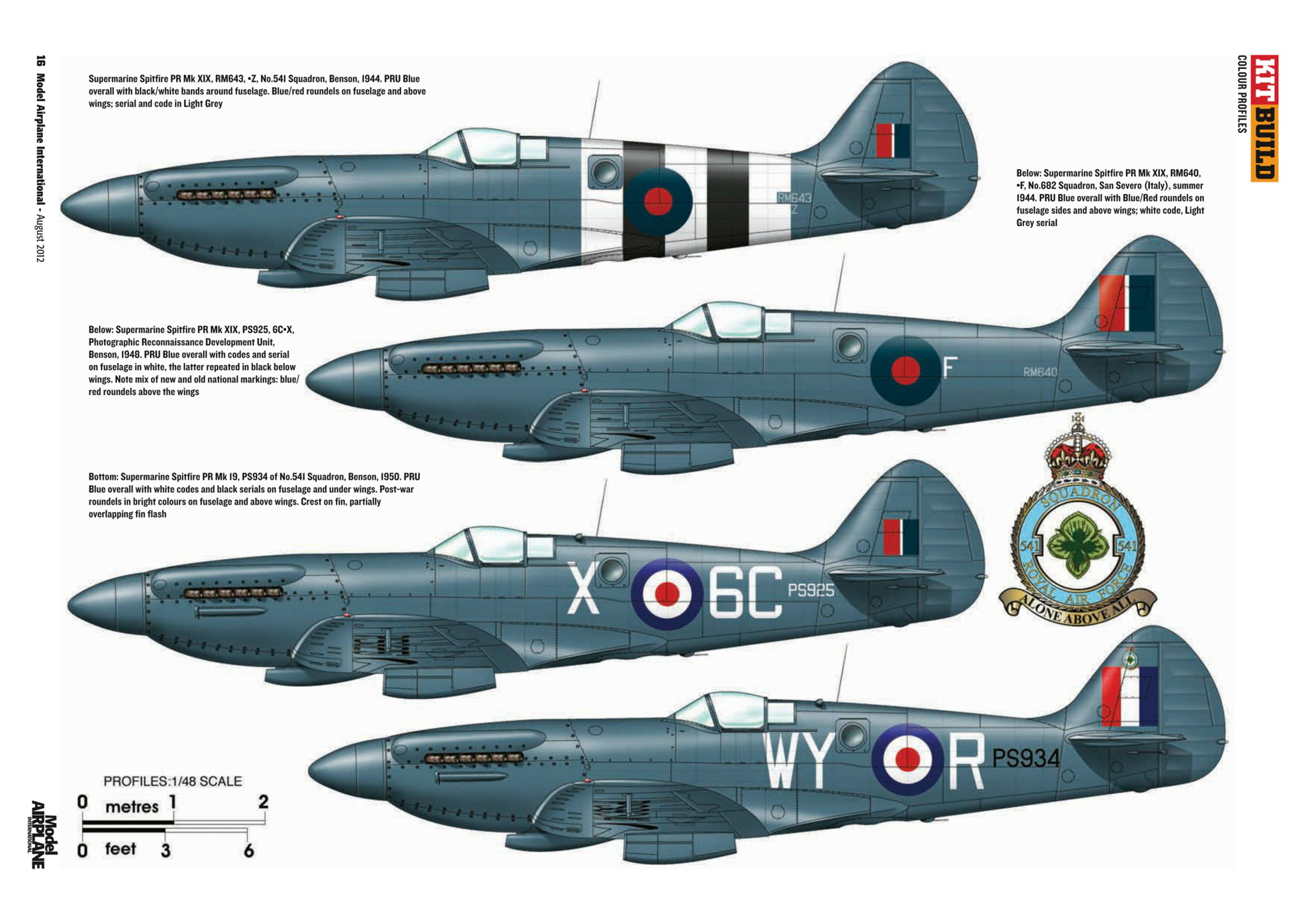Supermarine Spitfire profiles by Model Airplane Int 085 2012 08 Page 16