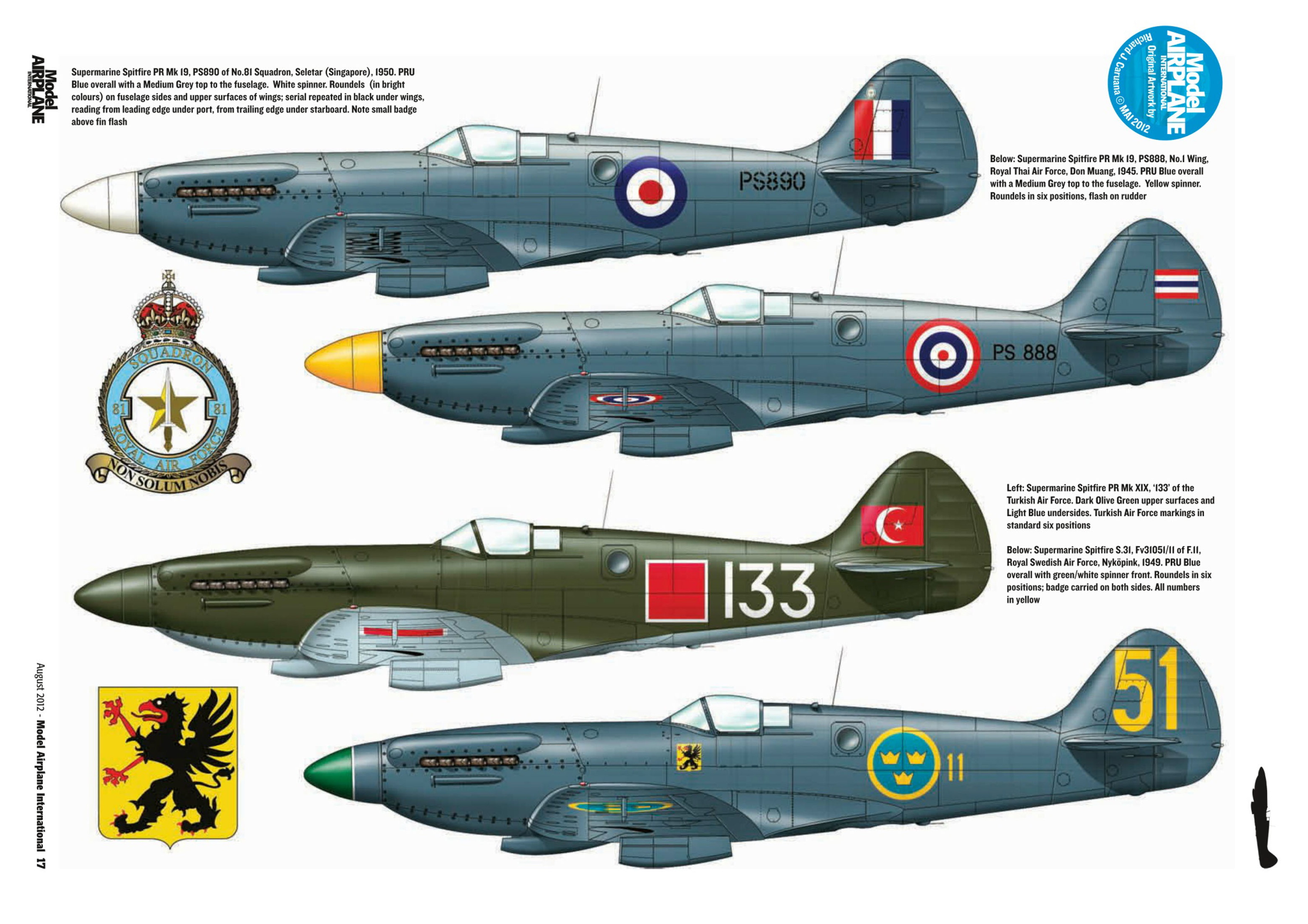 Supermarine Spitfire profiles by Model Airplane Int 085 2012 08 Page 17