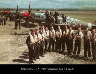Asisbiz Spitfire F21 RAF 600 Squadron RGL LA223 01