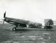 Asisbiz Spitfire FRXIV fuel functioning tests MV247 1945 01