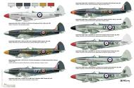 Asisbiz Spitfire Mk17s from various units by Military in Scale 2012 08