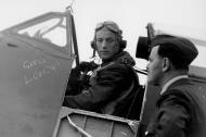 Asisbiz Spitfire MkVbTrop RCAF PO Jerry Smith lands aboard USS Wasp of Malta 1942 01