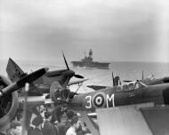 Asisbiz Spitfire MkVc RAF BR344 3M USS Wasp heading for Malta 1942 web 01