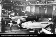 Asisbiz Spitfire MkVcTrop RAF 3B BR136 USS Wasp CV 7 Operation Bowery Malta 1942 01