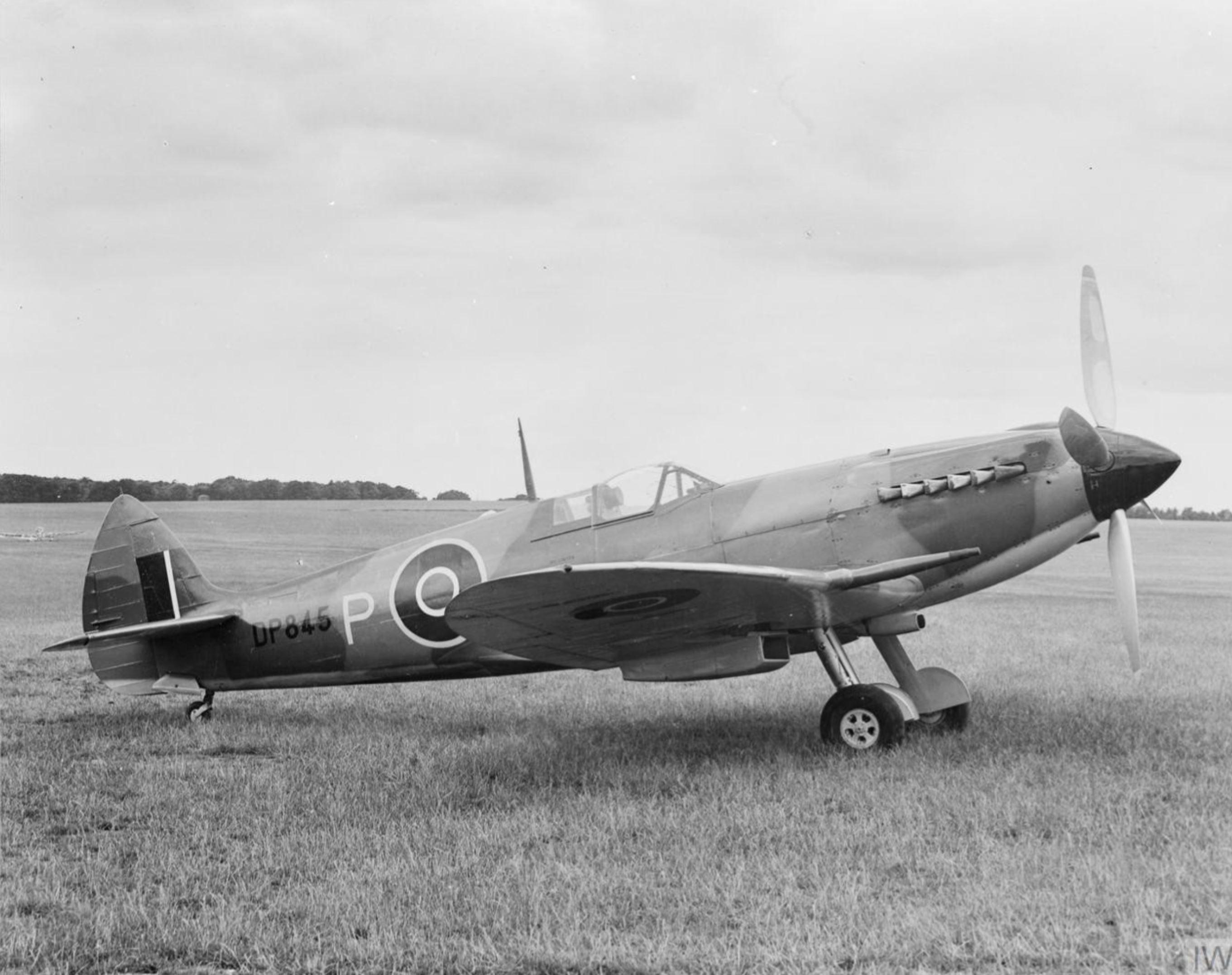 Spitfire 20 Prototype DP845 England IWM HU1680