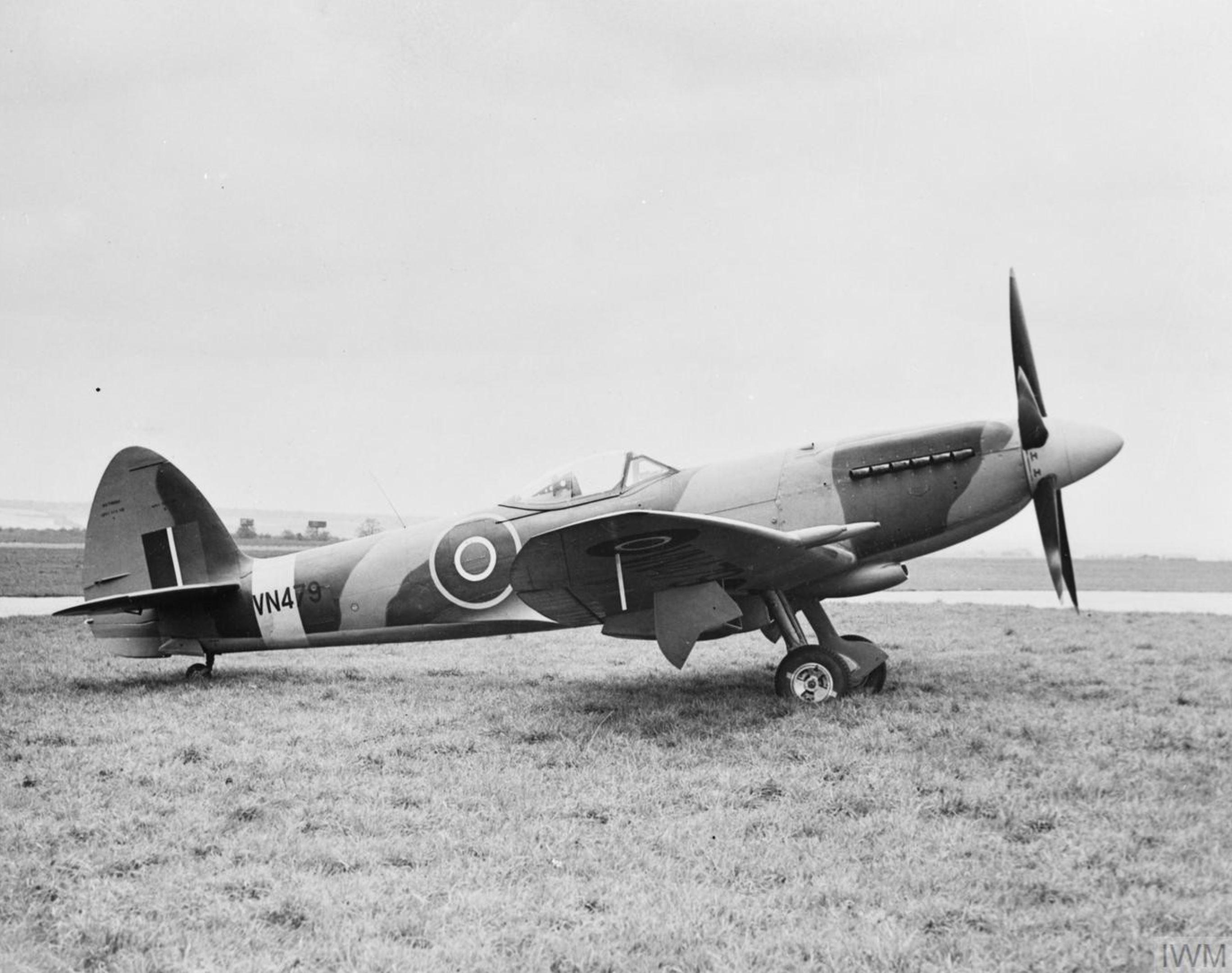 Spitfire 24 Prototype VN479 England IWM HU1683