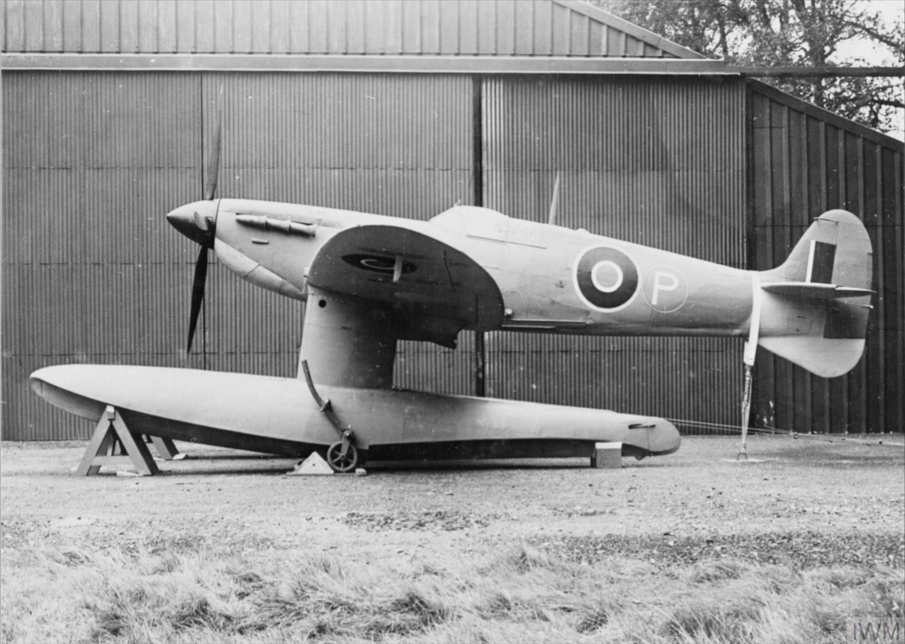 Spitfire 5 Prototype float plane England IWM HU1669