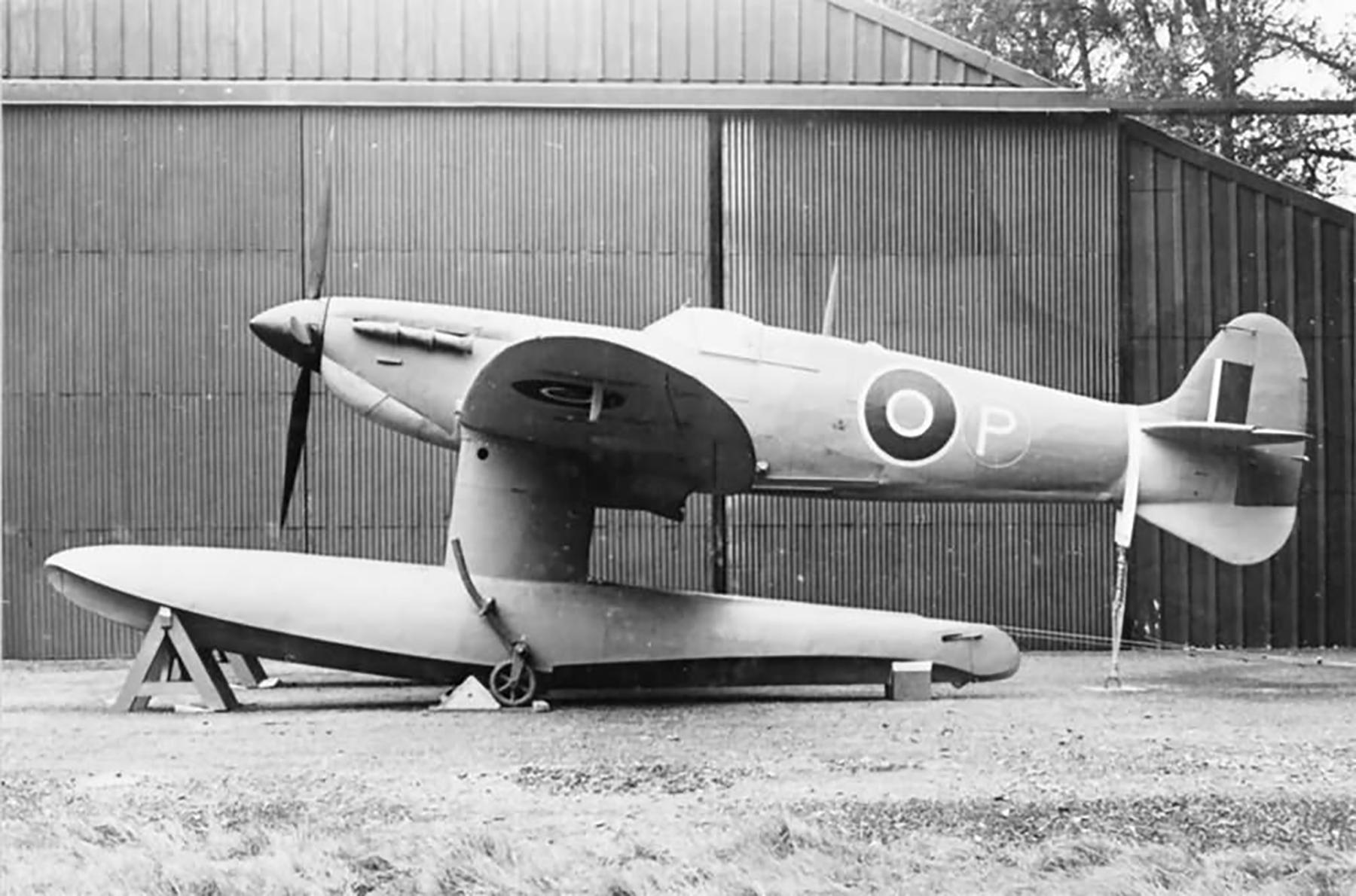 Spitfire MkV Prototype Floatplane W3760 England web 01