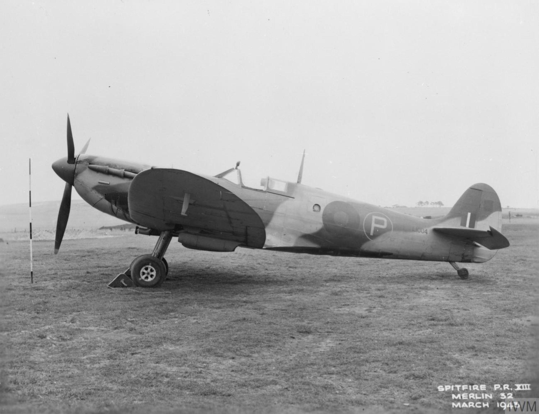 Spitfire PR12 Prototype L1004 IWM MH5241