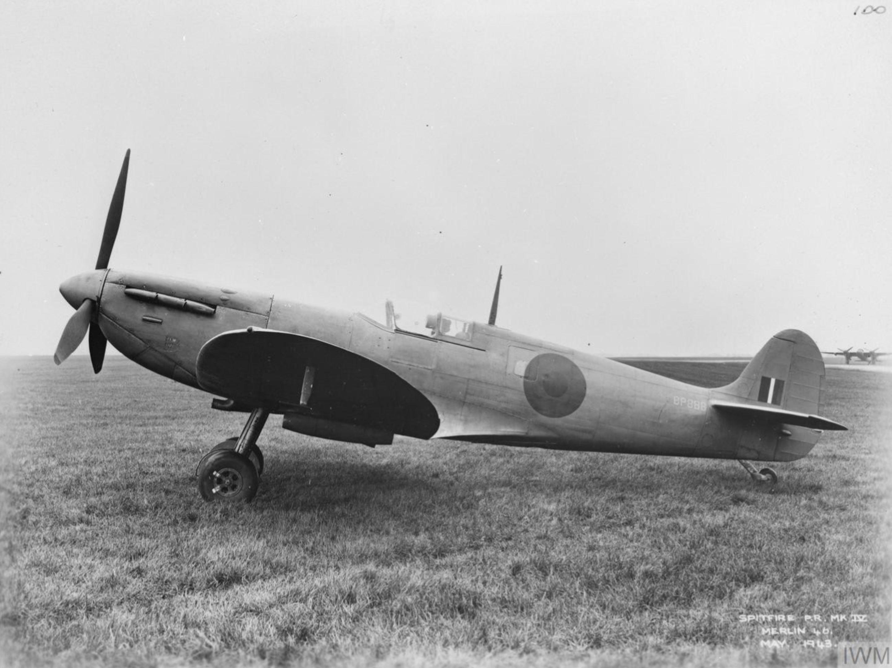 Spitfire PR4 Prototype BP888 England May 1943 IWM MH5107