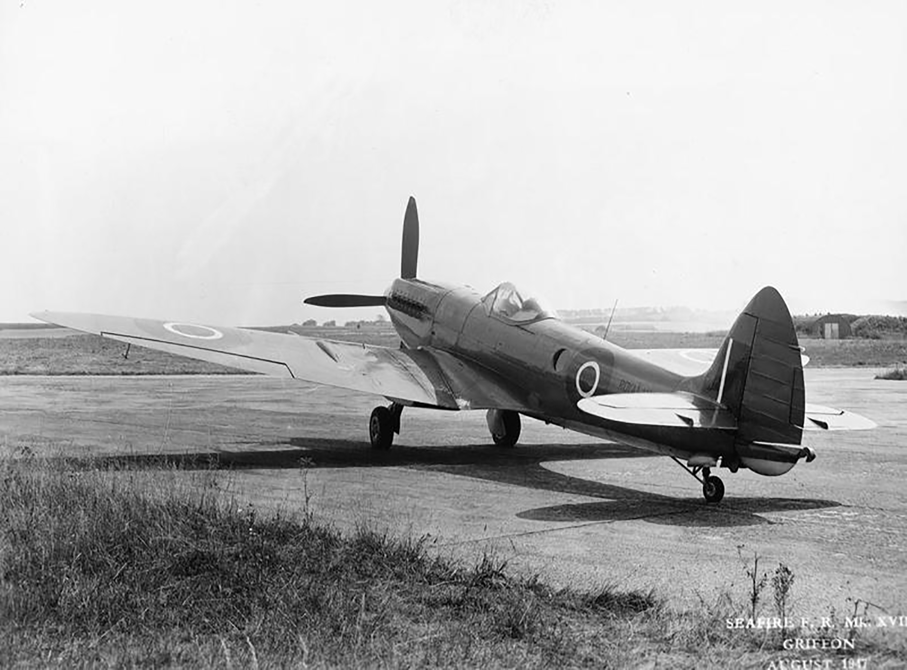 Spitfire PR47 Prototype England May 1947 02