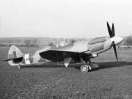 Asisbiz Spitfire 21 Prototype LA215 England IWM HU1681