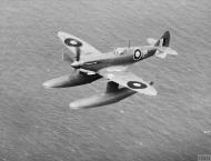 Asisbiz Spitfire Prototype 9 MJ892 floatplane in flight IWM HU1675