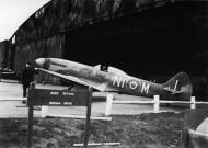 Asisbiz Spitfire FRXIV RAF 451Sqn NIM TZ142 Gatow Berlin late 1945 01