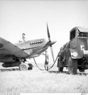 Asisbiz Spitfire LFIX RAF 451Sqn at Cuers Southern France Sep 1944 AWM MEA1977