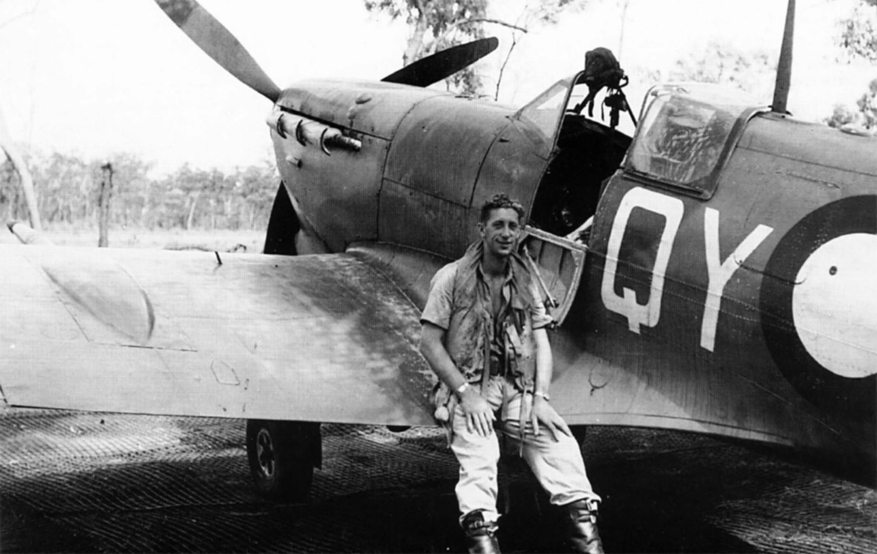 Spitfire MkVcTrop RAAF 452Sqn QYA Colin Ducan BR537 A58 43 Darwin 1943 01