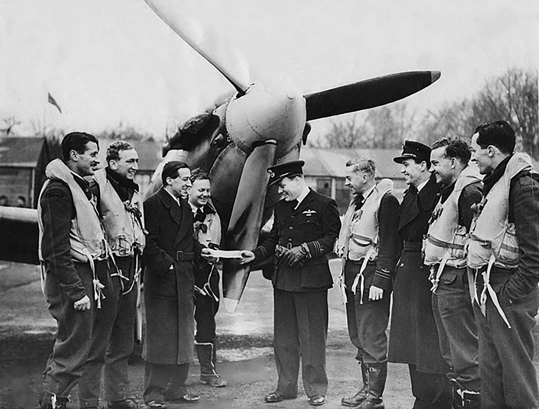 UK service Aircrew RAAF 452 Squadron Redheads Spitfire 01