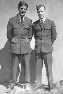 Asisbiz UK service Aircrew RAAF 452 Squadron Bardie and Perc Sloan 01