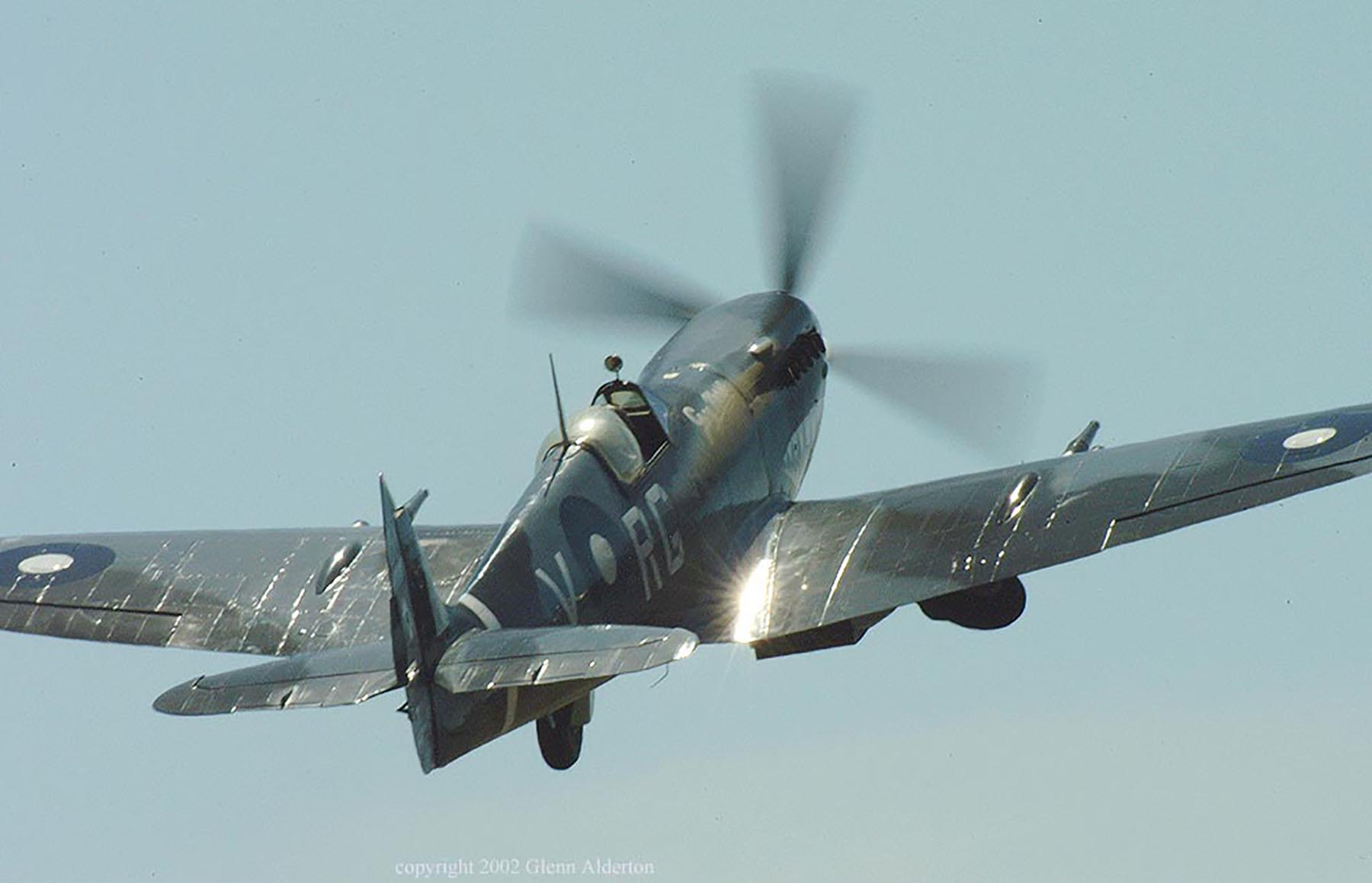 Airworthy Spitfire warbird RAAF 457Sqn RGV A58 602 02