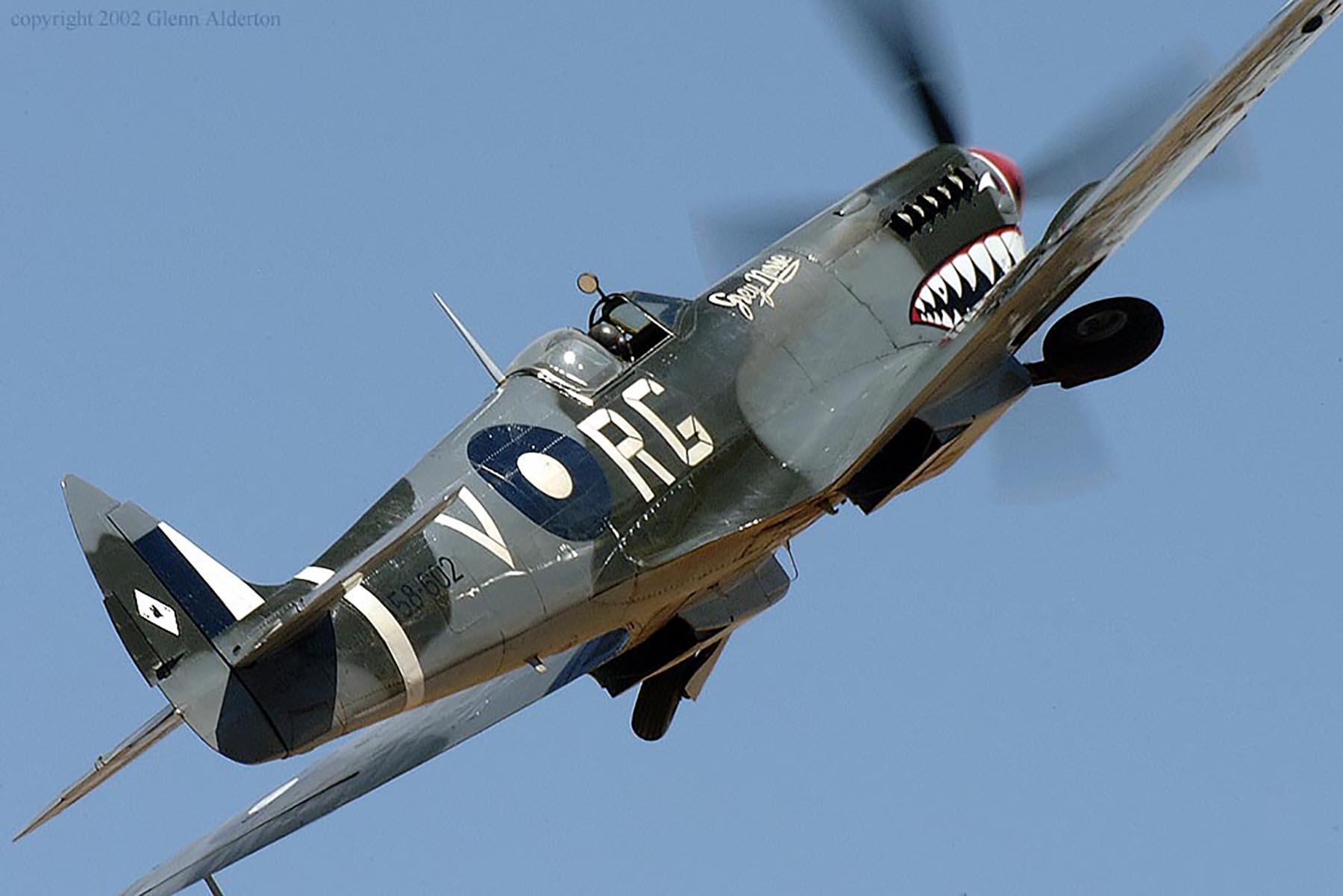 Airworthy Spitfire warbird RAAF 457Sqn RGV A58 602 03