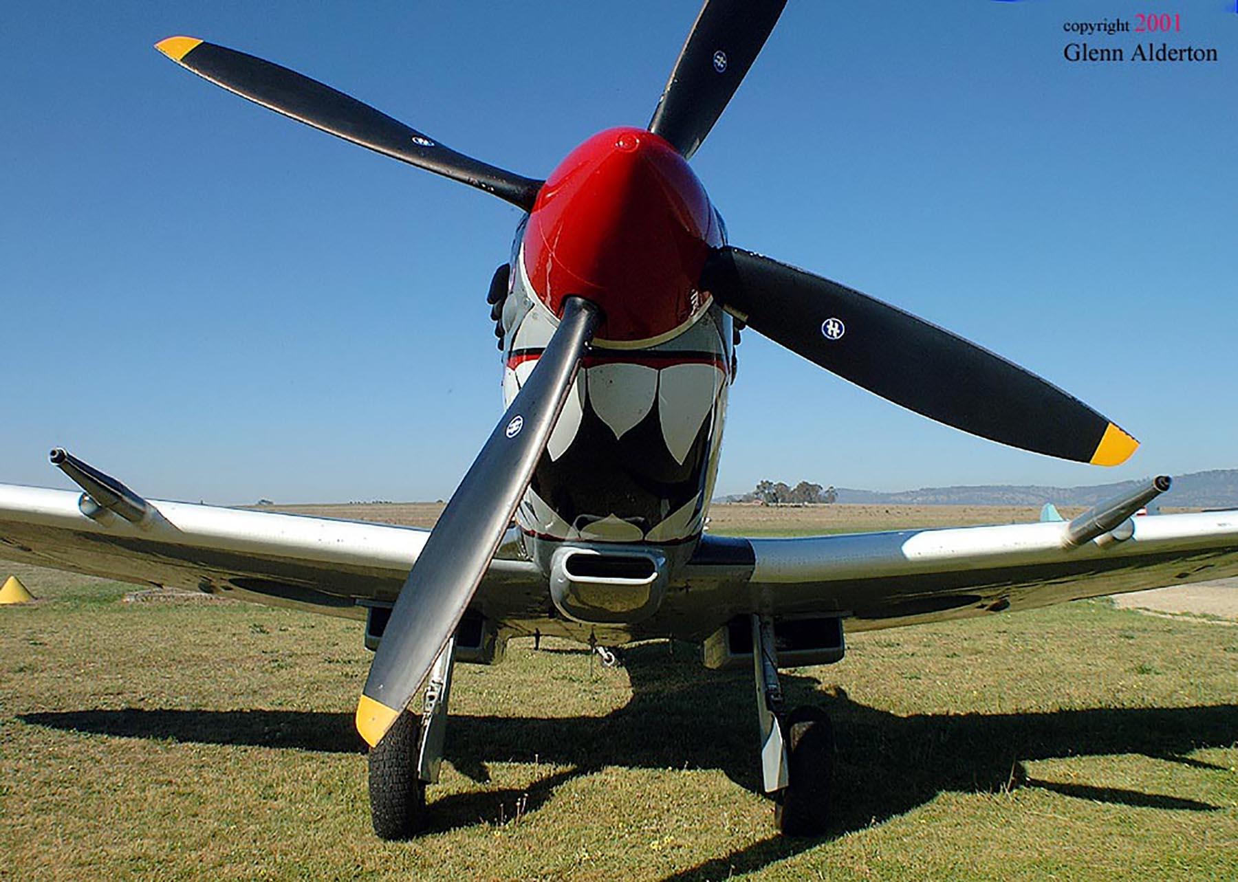 Airworthy Spitfire warbird RAAF 457Sqn RGV A58 602 07