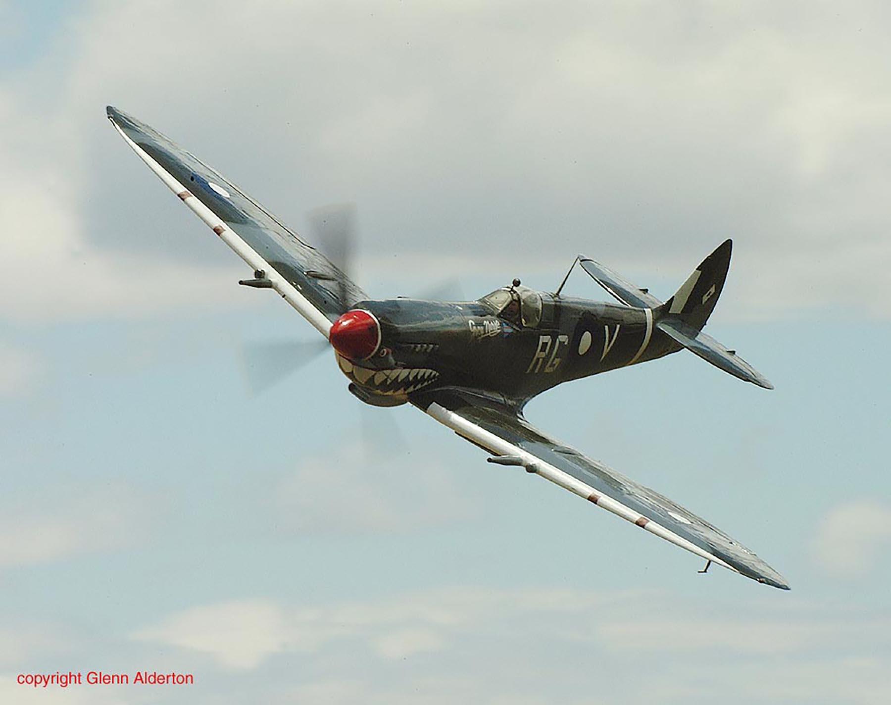 Airworthy Spitfire warbird RAAF 457Sqn RGV A58 602 10