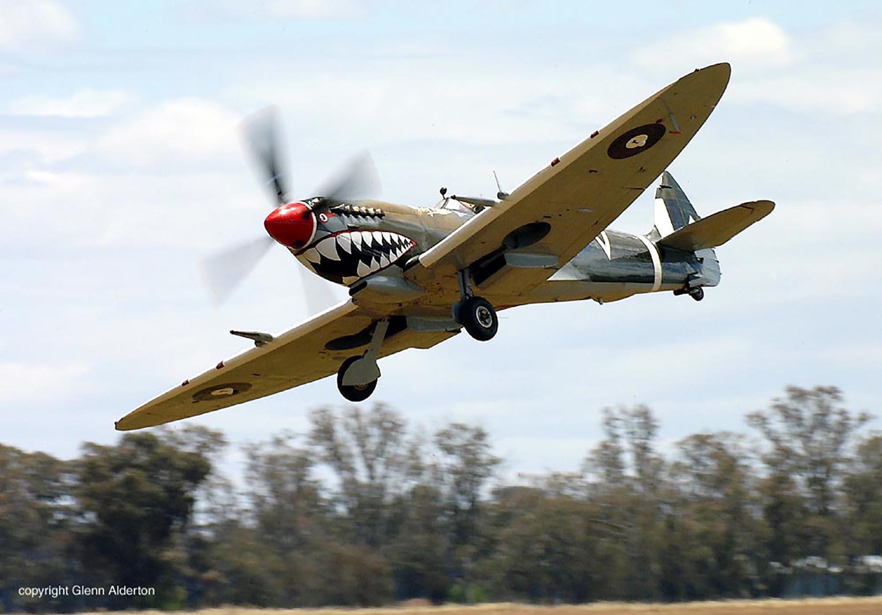 Airworthy Spitfire warbird RAAF 457Sqn RGV A58 602 11
